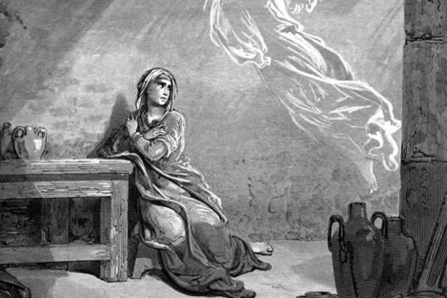 """The Annunciation,"" by Gustave Dore"