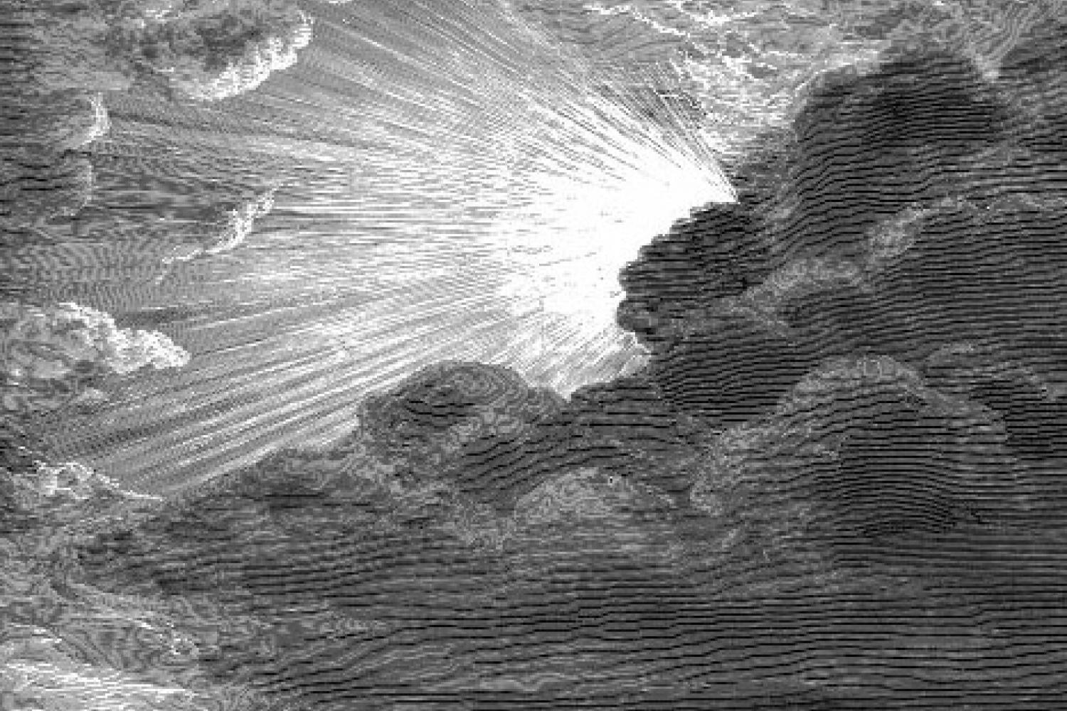 """The Creation of Light,"" by Gustave Dore"