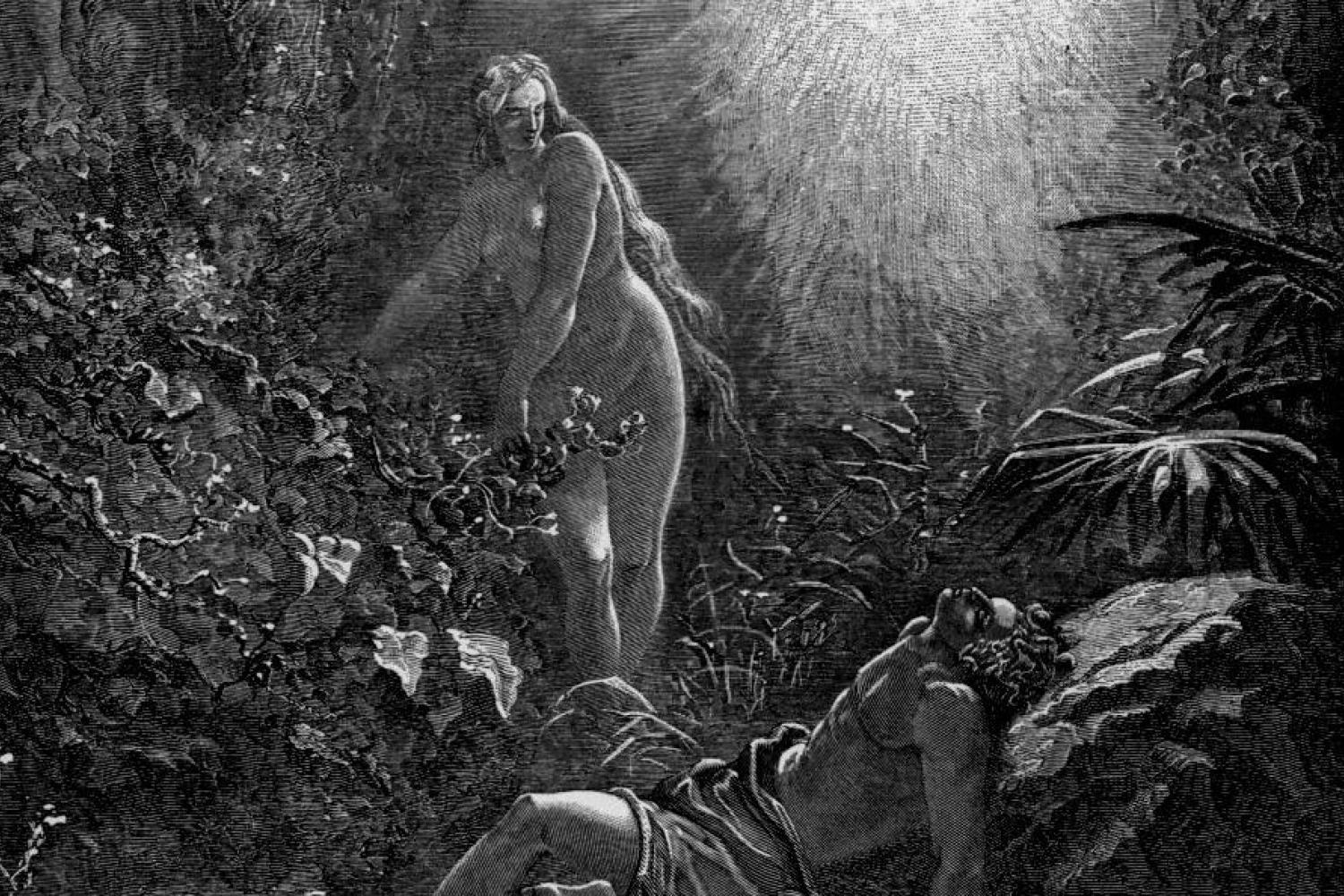 """The Formation of Eve,"" by Gustave Dore"