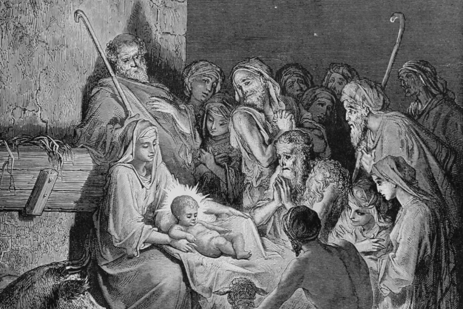 """The Nativity,"" by Gustave Dore"