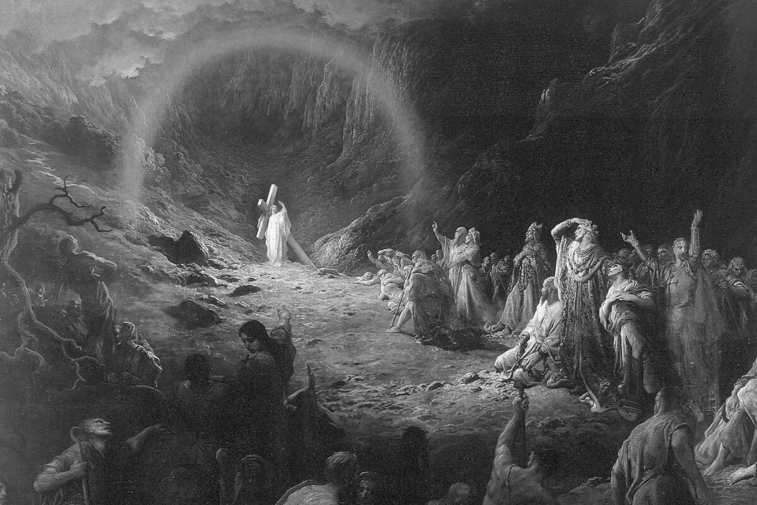 """The Valley of Death,"" by Gustave Dore"