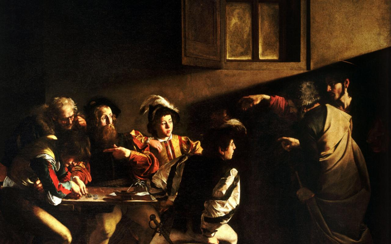 """The Calling of St. Matthew,"" by Caravaggio"