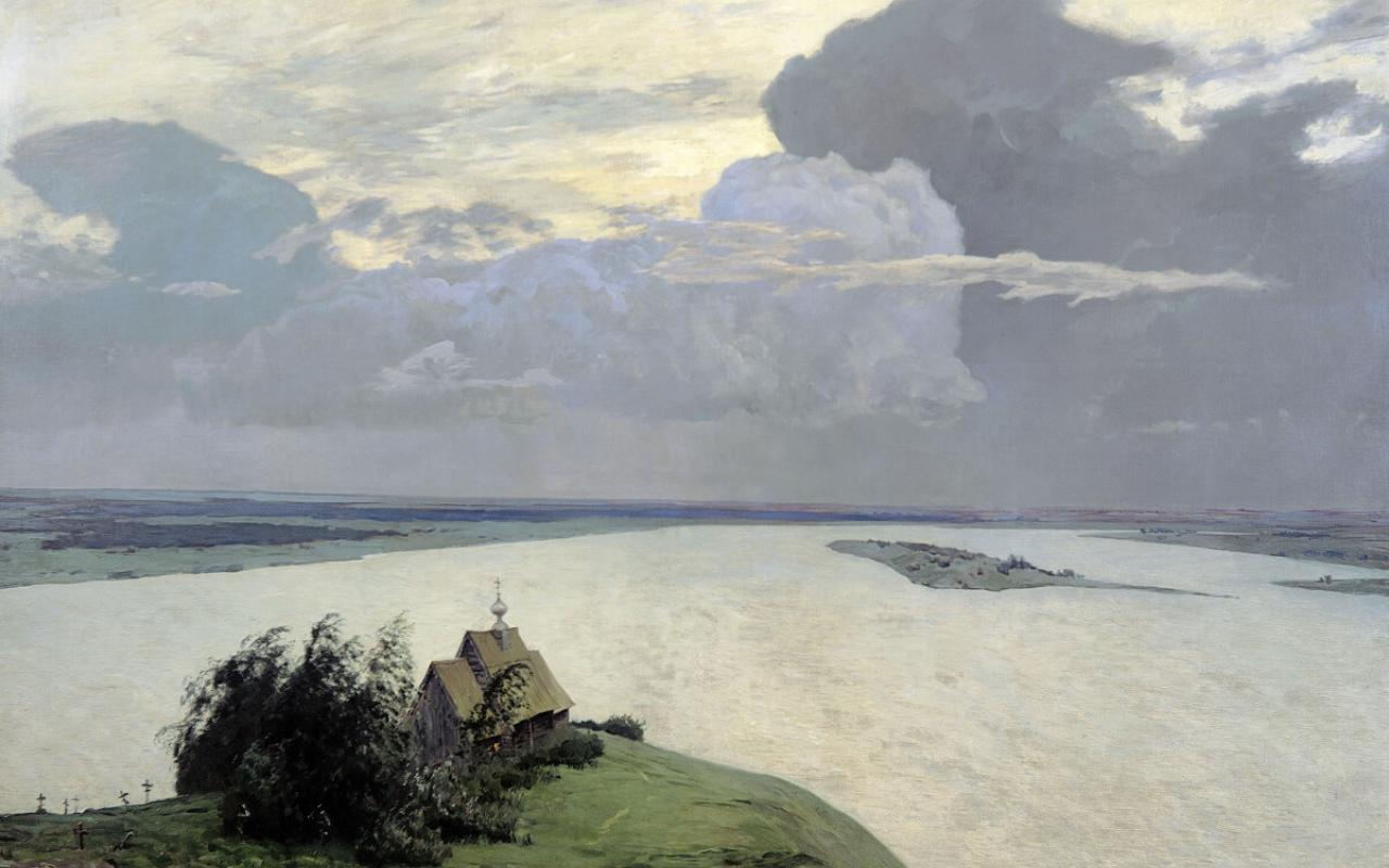 """Over Eternal Peace,"" by Isaac Levitan"