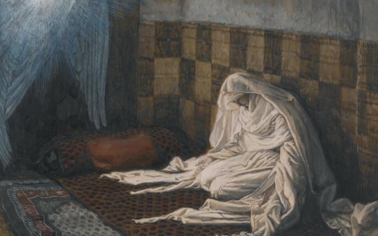 """The Annunciation,"" by James Tissot"