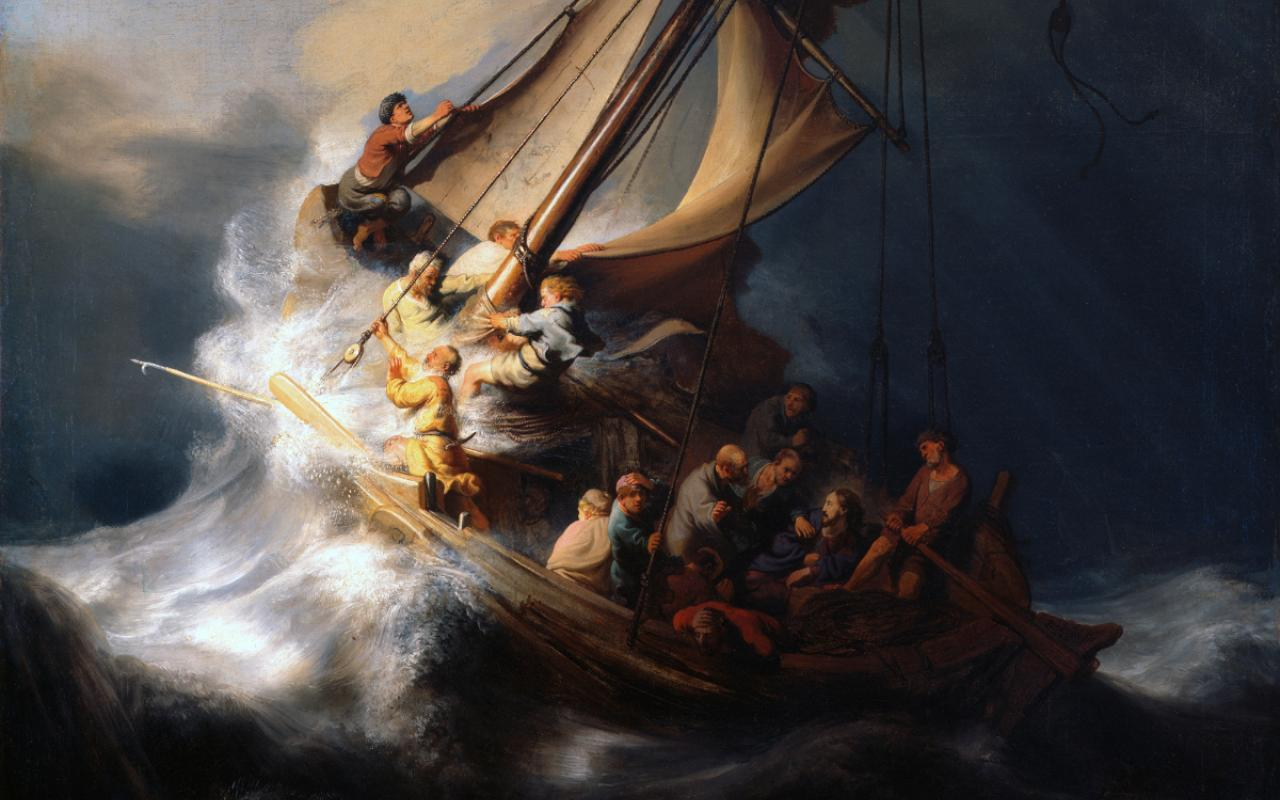 "Rembrandt's ""The Storm on the Sea of Galilee"""