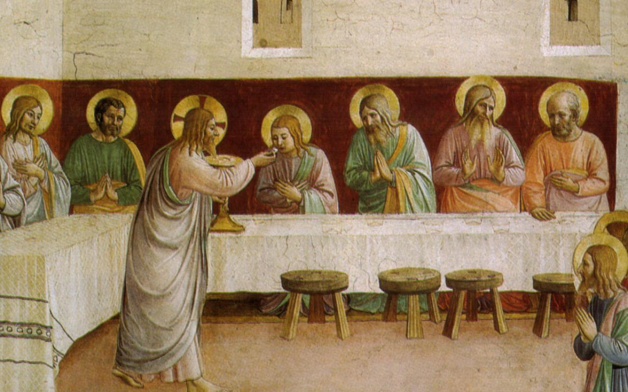 "Fra Angelico's ""Communion of the Apostles"""