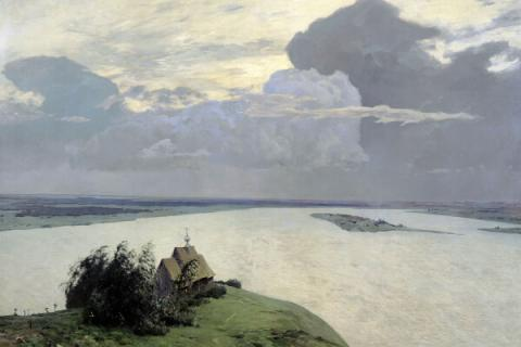 """Over Eternal Peace"" by Isaac Levitan"