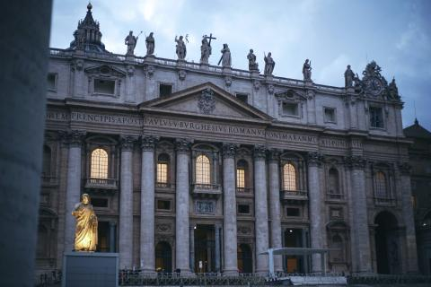 The Façade of St. Peter's Basilica